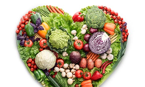 Eating healthy protects against disease